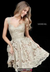 Sherri Hill Short Dress 51521 | PromDressShop.com