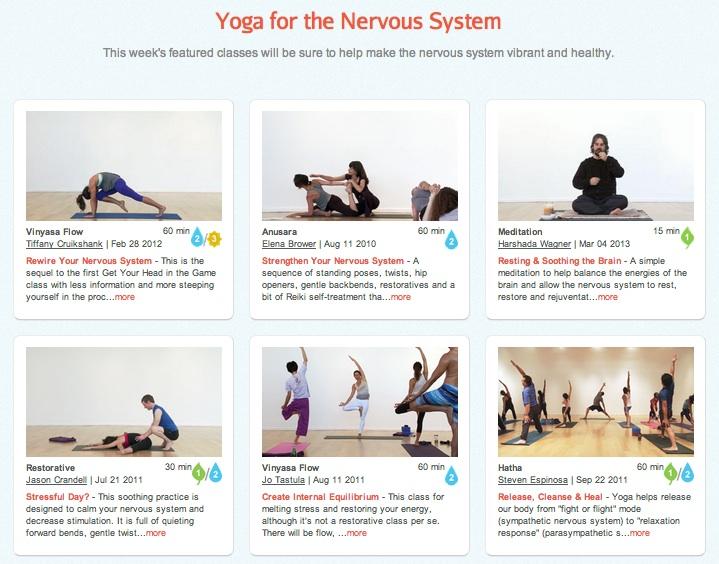 Yoga for the Nervous System – YogaGlo   Blog