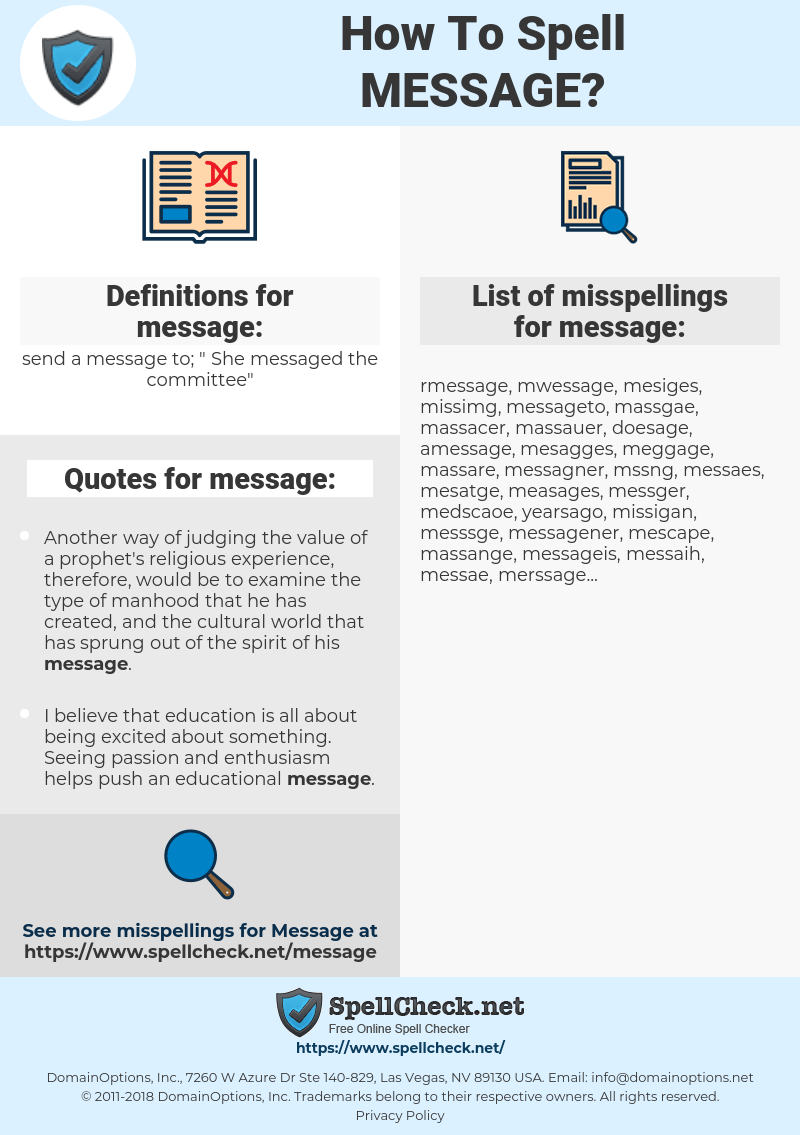 Spell Message : spell, message, Spell, Message, Misspell, Spellcheck.net