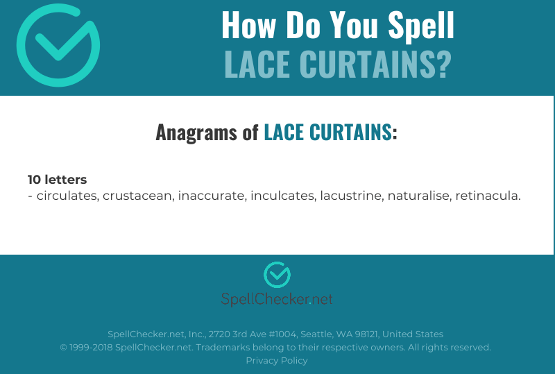 What Is Curtains Spelling | www.myfamilyliving.com
