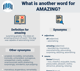 synonyms for amazing antonyms