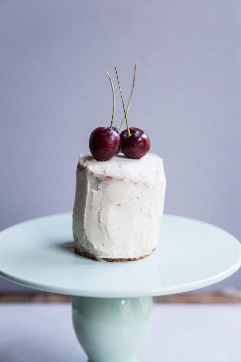 Cherry Baby Birthday Cake Party Vintage Mixer