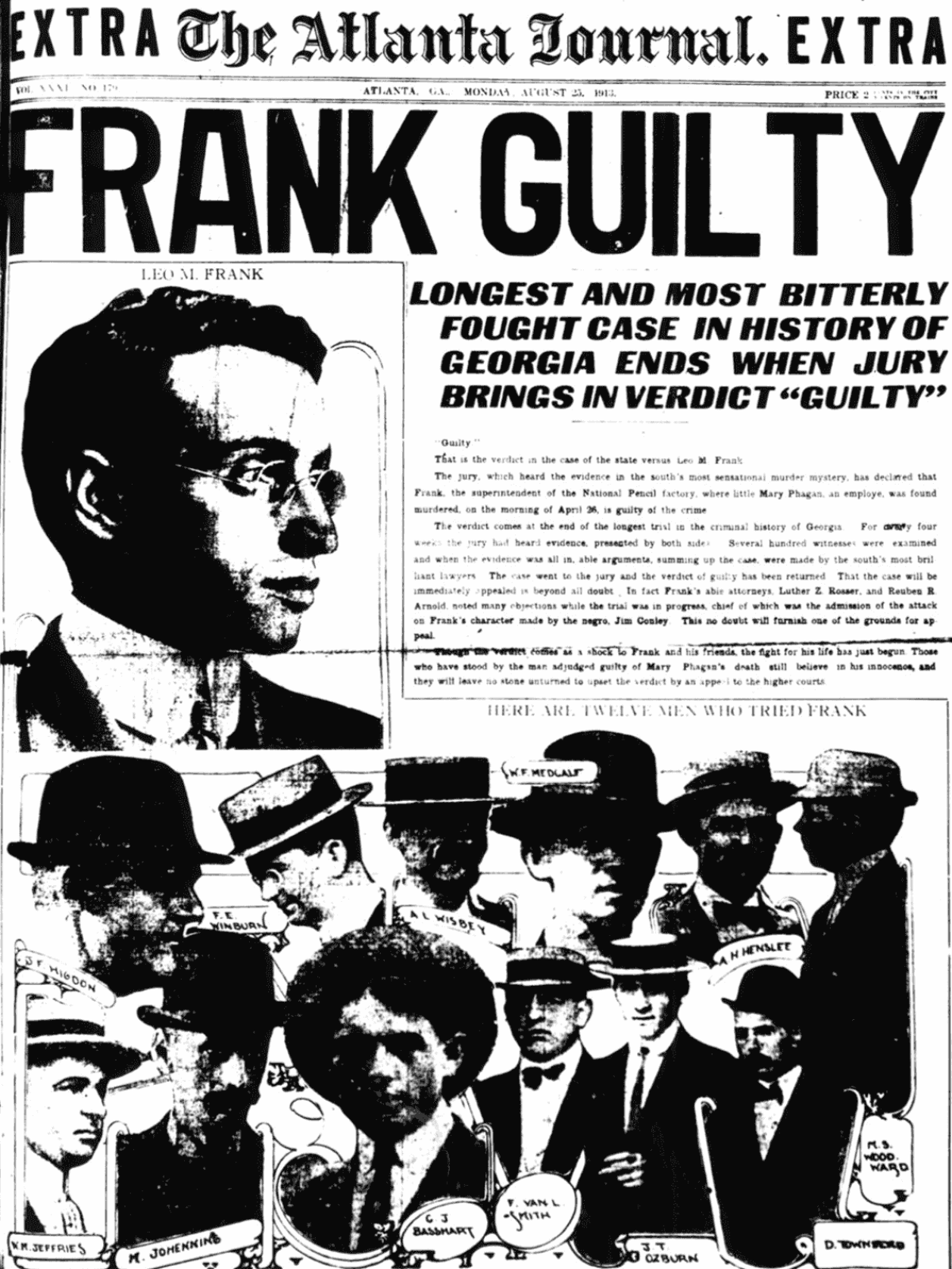 Newspapers reported every detail of the trial with glee