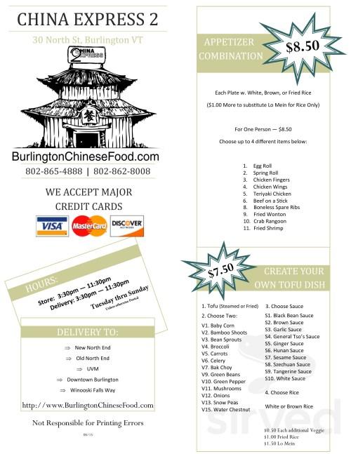 small resolution of menu for china express 2 main menu page 1 of 4