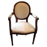 JC Penney Louis XVI Style Arm Chairs - Set of 4 - AptDeco