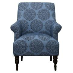 Upholstered Dining Chairs Target Exercise Ball Chair Benefits Candace Teal Medallion Arm Aptdeco