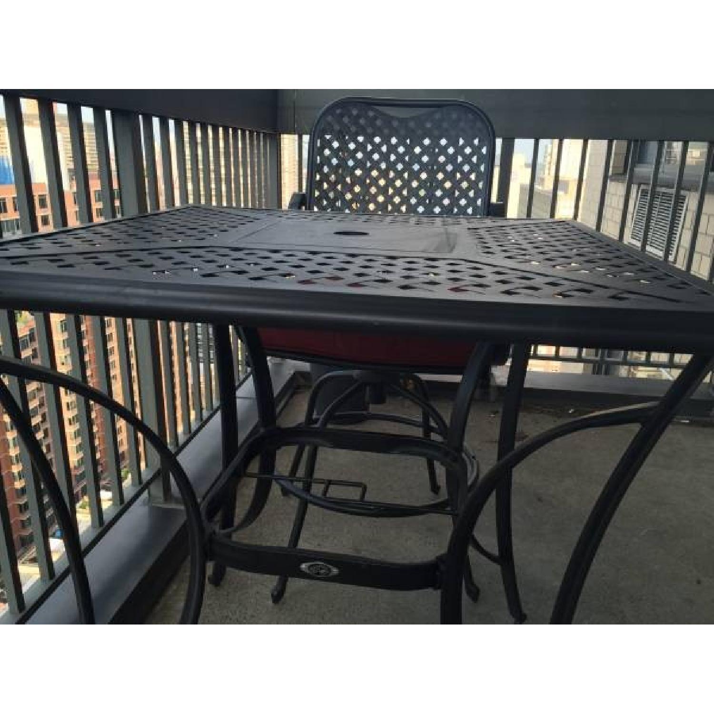 hampton bay 3 piece outdoor patio furniture dining set