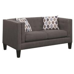 Deconstructed Shelter Arm Sofa Review Norwalk Colton Sectional Double Cushion Style Loveseat W Tufted