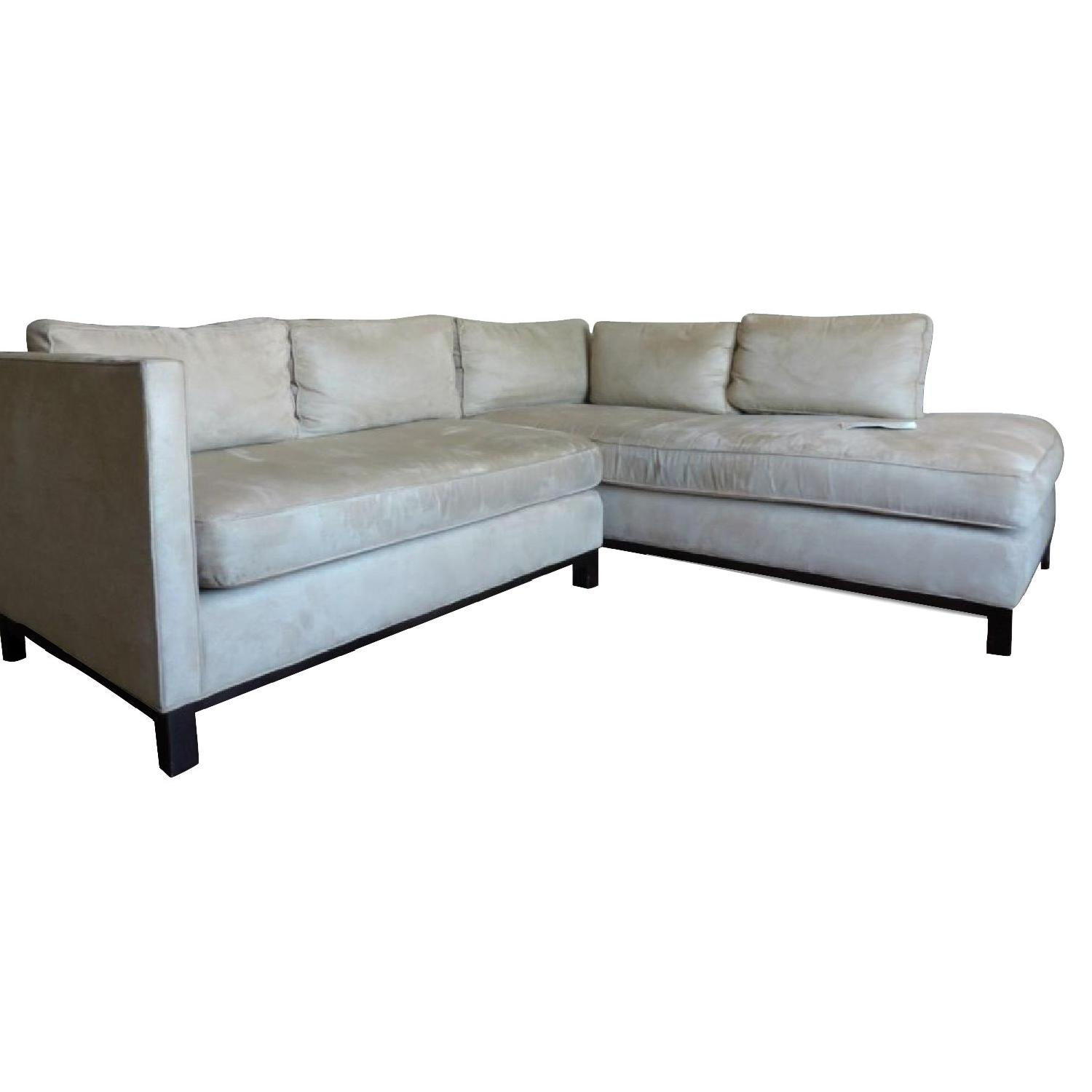 gold sectional sofa chaise grey mitchell 43 bob williams clifton collection aptdeco