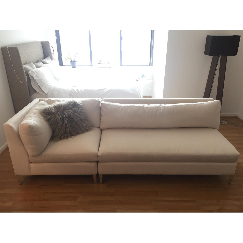 cb2 sectional sofa bed twin size sleeper cielo 2 piece aptdeco
