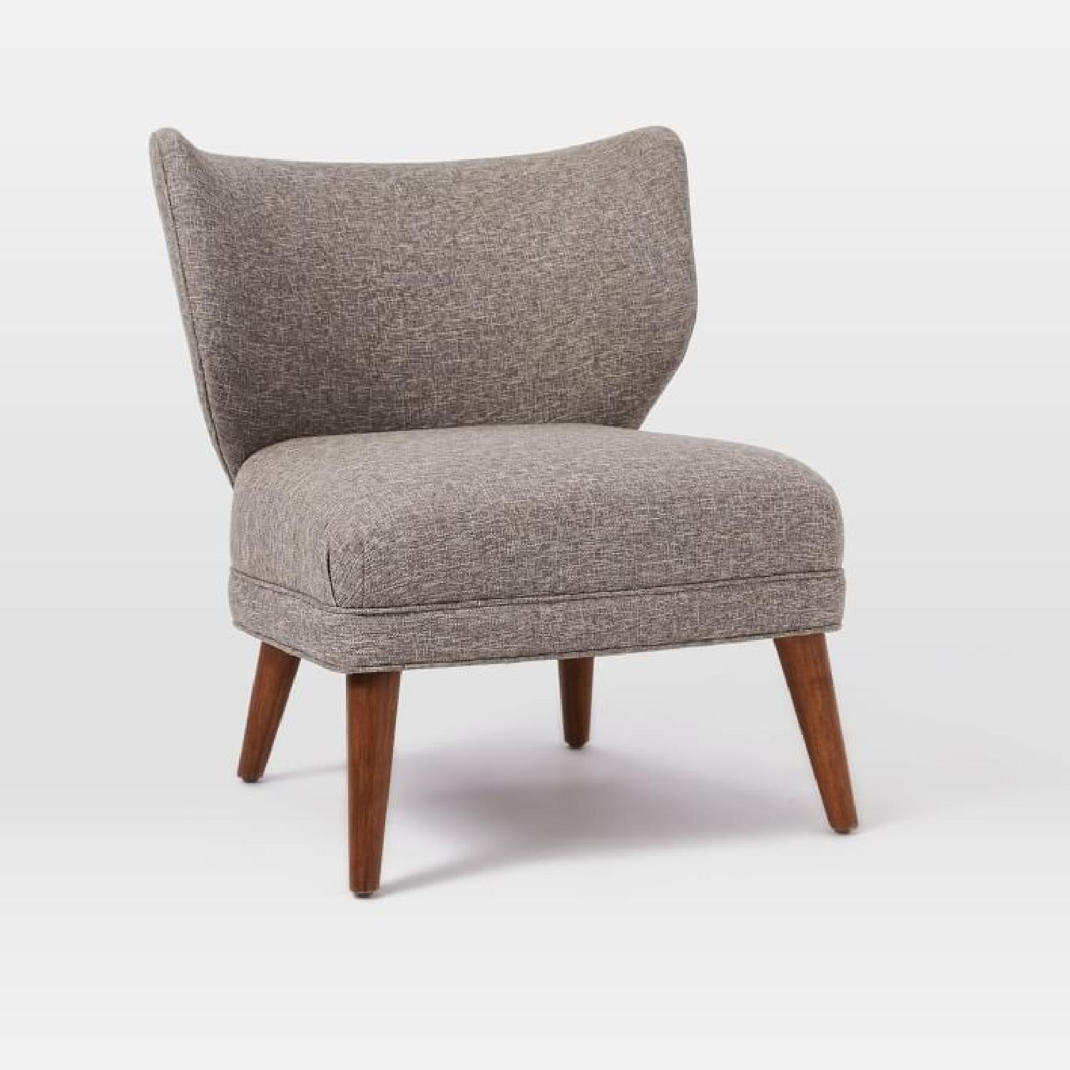 Retro Wing Chair West Elm Retro Wing Chair Aptdeco