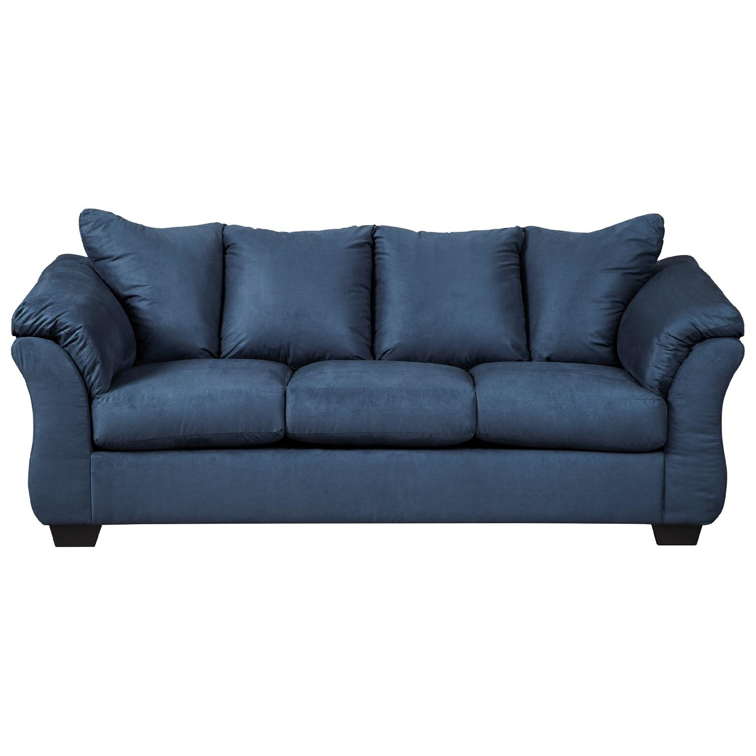 ashley furniture darcy sofa sleeper best sectional canada blue full aptdeco