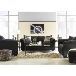 Ashley Furniture Darcy Sofa Sleeper Covers Ed Black Full Aptdeco