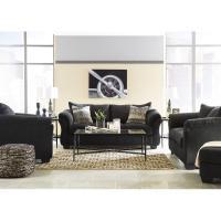 Ashley Darcy Black Full Sofa Sleeper - AptDeco