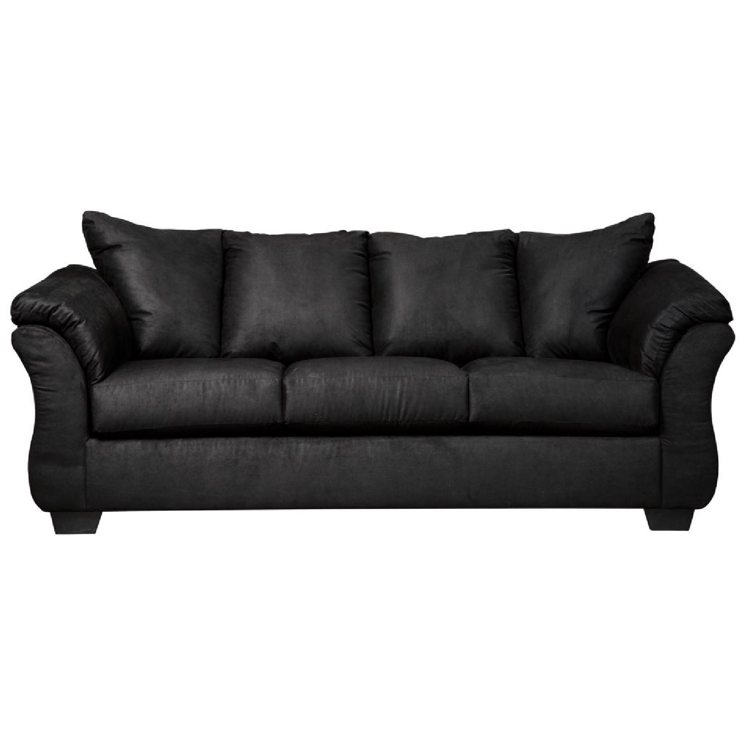 ashley furniture darcy sofa sleeper cool covers black full aptdeco