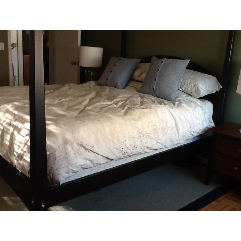 Ethan Allen 3 Piece Queen Canopy Bedroom Set Aptdeco