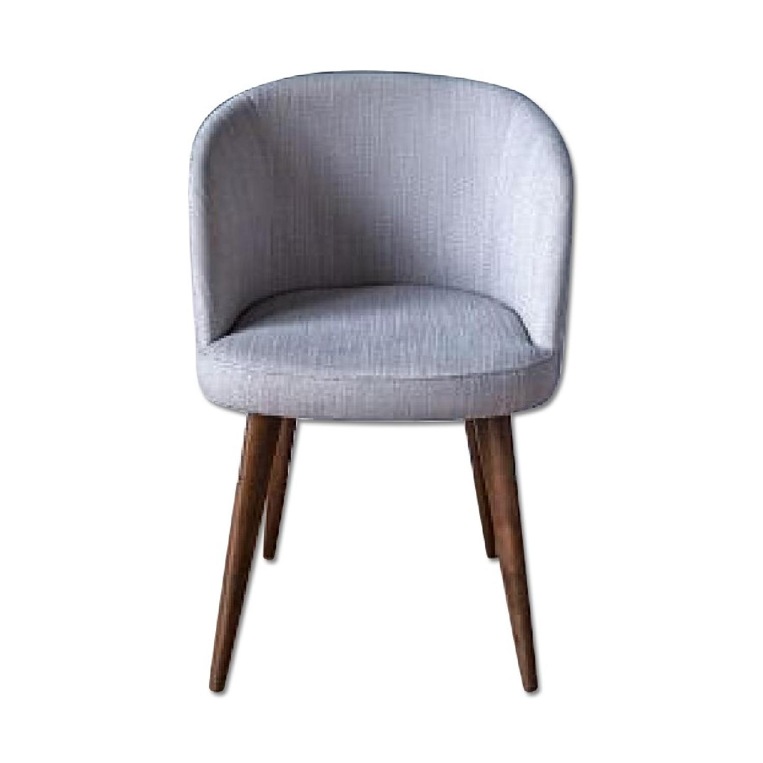 basket weave dining chairs ball chair amazon west elm abraza in gray pecan