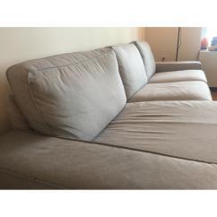 Ikea Kivik Sofa Review Serta Bonded Leather Convertible Sectional W Chaise In Orrsta Light Aptdeco