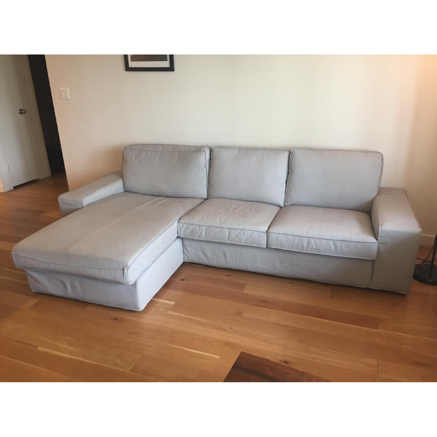 ikea kivik sofa review italian faux leather bed sectional w chaise in orrsta light aptdeco