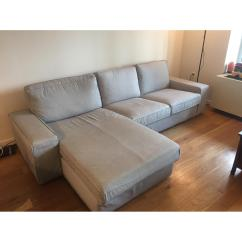 Ikea Kivik Sofa Review Turn Any Into A Bed Sectional W Chaise In Orrsta Light Aptdeco
