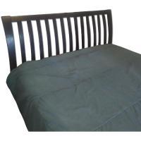 Dark Wood Queen Bed Frame - AptDeco