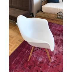Retro White Chair Cost Of Covers For Wedding Baxton Studio Classic Accent In