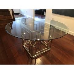 Z Gallerie Bleeker Sofa Reviews Minneapolis Repair Glass And Chrome Dining Table Aptdeco