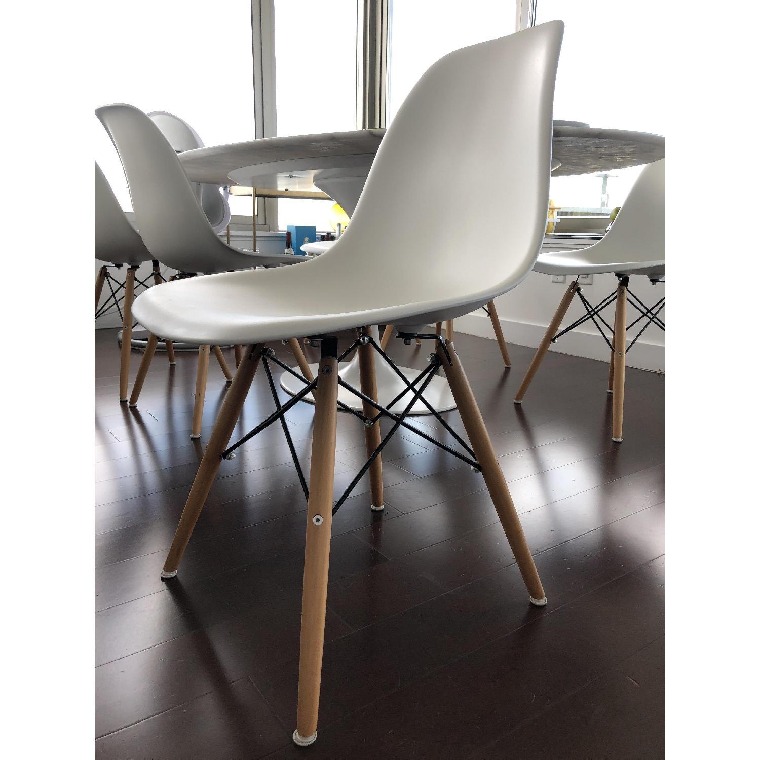 eames style plastic chair ultralight backpacking langley street white dining