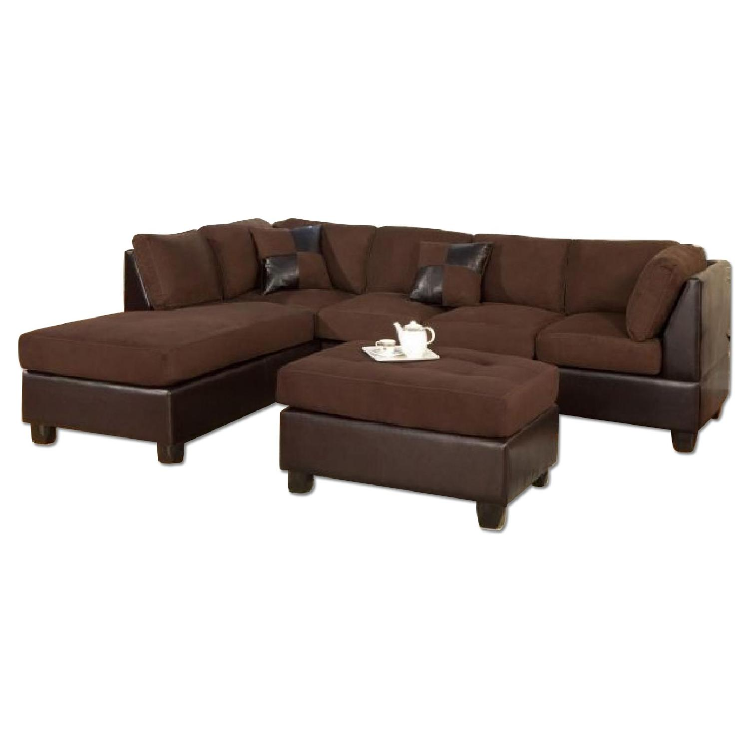3 piece microfiber sectional sofa with chaise sleeper matching recliner bobkona claudia bonded leather 4 and aptdeco