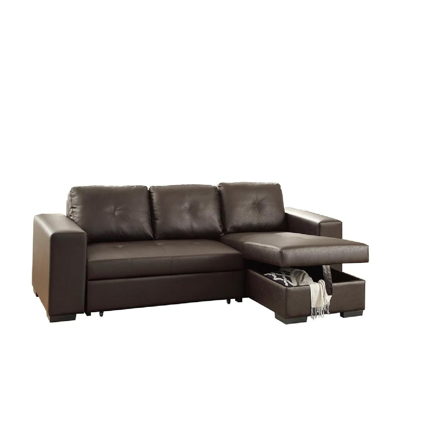 arhaus leather sofa togo copy uk garner tufted sectional in libby saddle