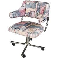 Mid Century Modern Swivel Office/Lounge Club Chair - AptDeco
