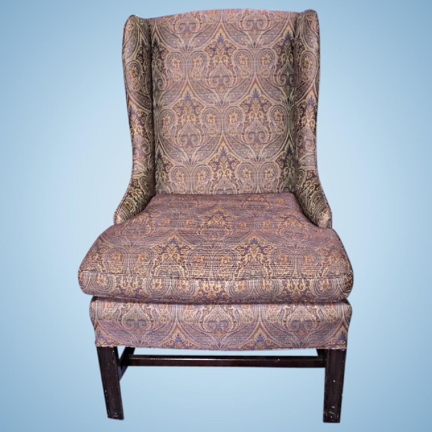 Paisley Chair Vintage Purple Paisley Child Wing Chair Armchair