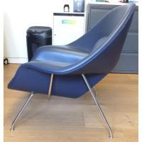 Knoll Eero Saarinen Leather Womb Chair - AptDeco
