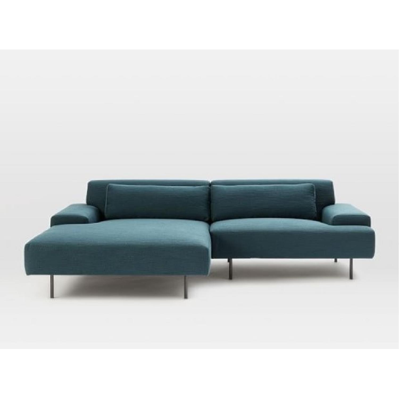 restoration hardware sectional sofa review budget sofas west elm beckham 2-piece chaise - aptdeco
