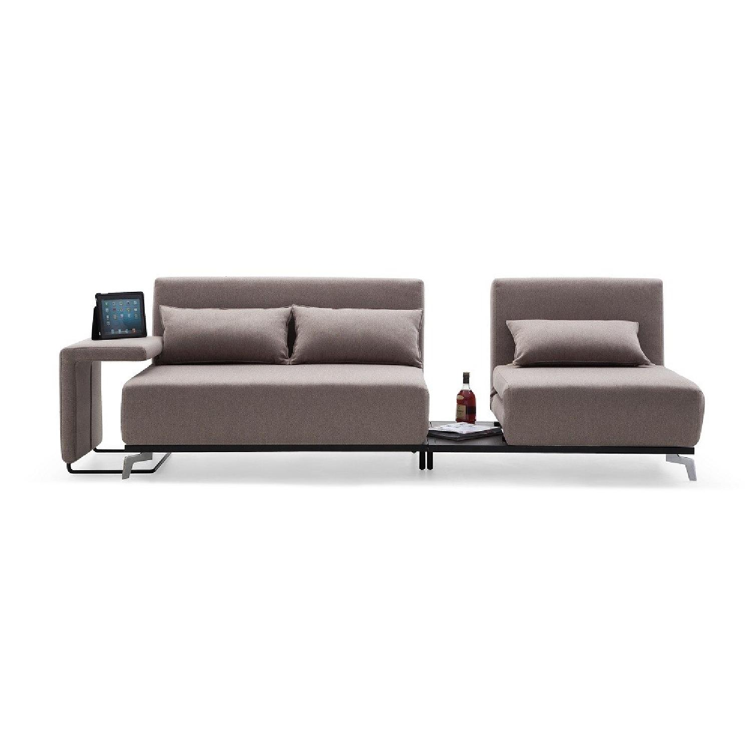 dwr bay sleeper sofa review wrought iron marble table the smart double seat bed aptdeco
