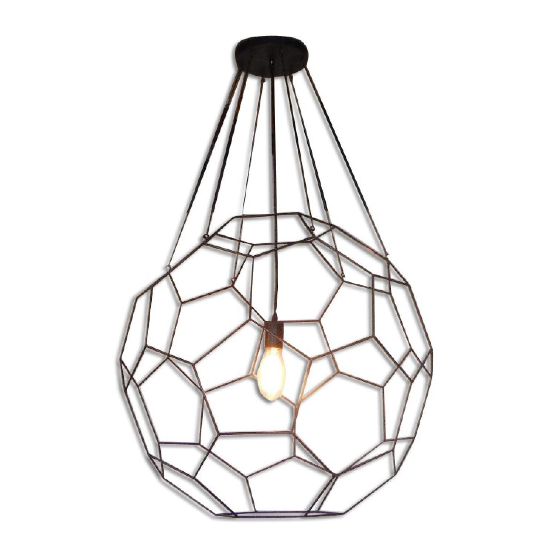 Oblik Studio Inc Tiffany Aluminum Ceiling Pendant