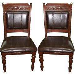 Accent Dining Chairs Best Baby Swing Chair Uk Wood Set Of 2 Aptdeco