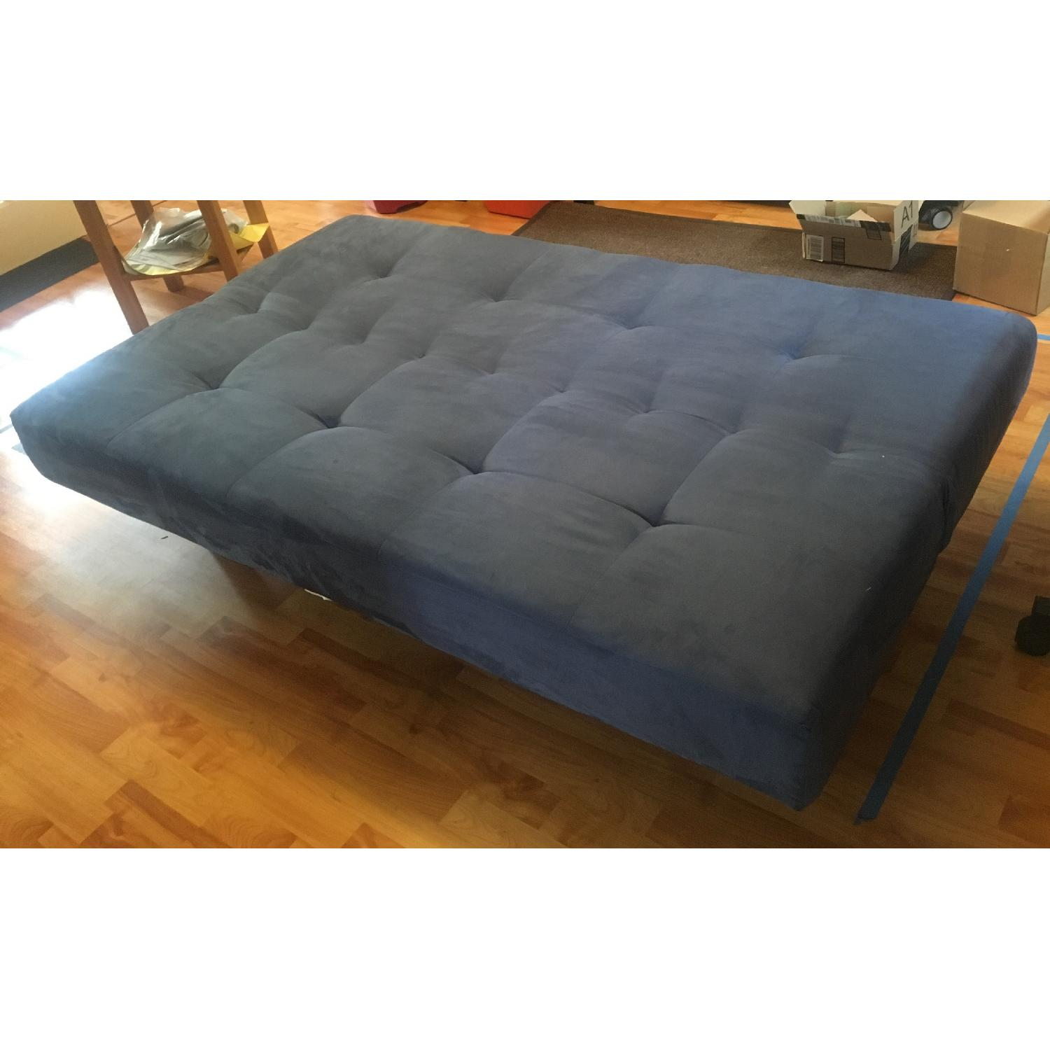 boconcept sleeper sofa review sure fit covers ikea balkarp bed in blue - aptdeco