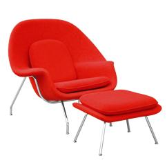 Design Within Reach Womb Chair Drexel Dining Chairs Mid Century Modern Saarinen And Ottoman Aptdeco