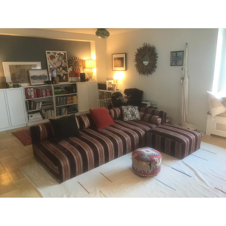 custom sectional sofa chesterfield corner second hand loree l shaped aptdeco