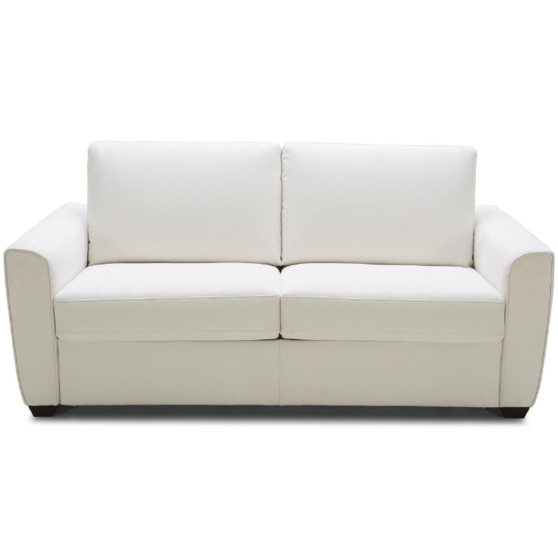 white sectional sleeper sofa barrister velvet off microfiber bed w memory foam aptdeco