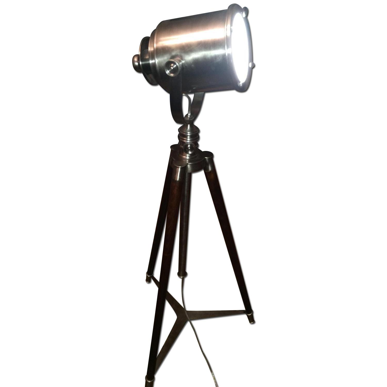 Pottery Barn Tripod Floor Lamp