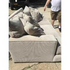 Macys Sofa Pillows Calico Corners Quality Macy 39s Gray Ainsley Fabric W 4 Toss Aptdeco