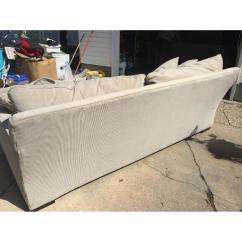 Macys Sofa Pillows Ikea Rp Review Macy 39s Gray Ainsley Fabric W 4 Toss Aptdeco
