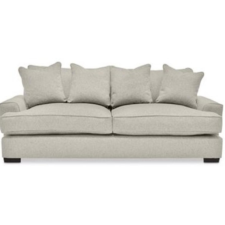 macys sofa pillows sleeper with air dream mattress macy 39s gray ainsley fabric w 4 toss aptdeco