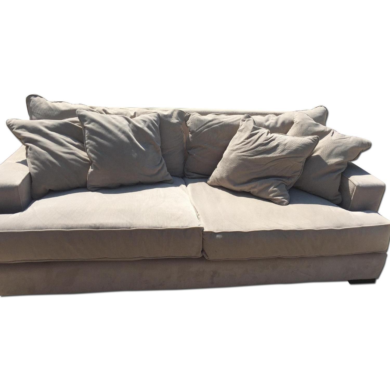 macys sofa pillows flip flop with storage macy 39s gray ainsley fabric w 4 toss aptdeco