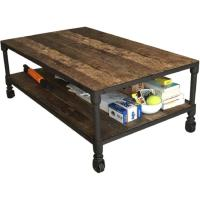 Restoration Hardware Coffee Table - AptDeco