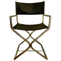 Black Molded Plastic Hand Chair - AptDeco