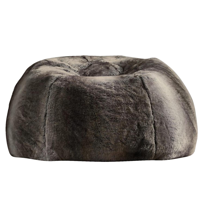 restoration hardware beanbag chair devon covers new zealand luxe faux fur bean bag in aptdeco