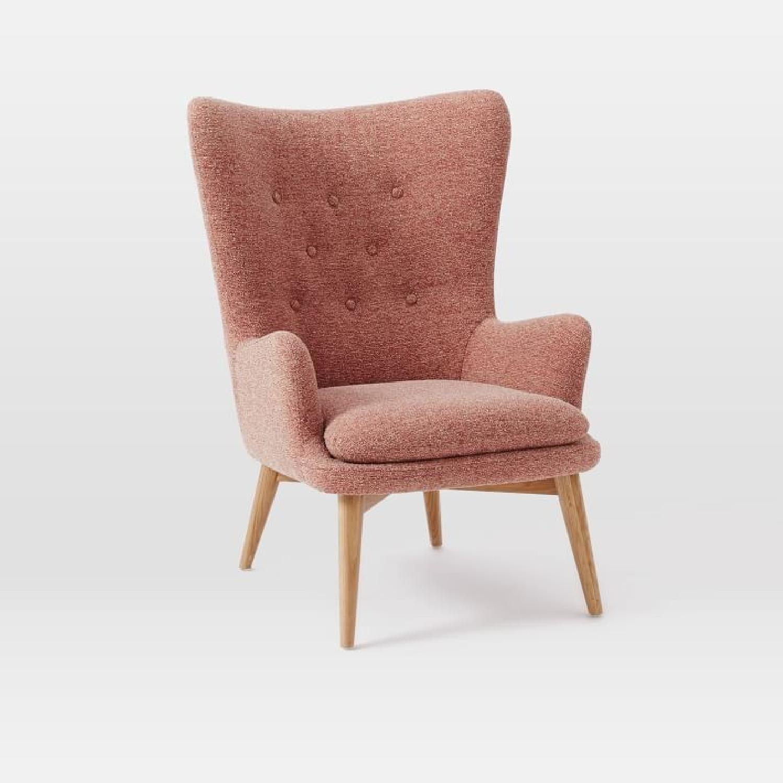 west elm chairs outdoor purple bungee chair niels upholstered wing aptdeco